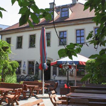 Biergarten im Schießhaus Dresden