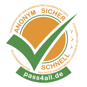Logo digitale Gästeregistrierung pass4all
